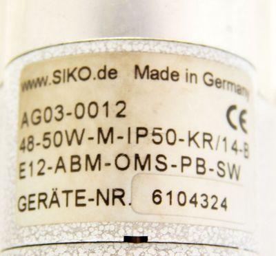 Siko Stellantrieb AG03-0012 Feldbus  - used - – Bild 3
