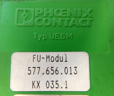 Phoenix Contact 577.656.013 FU-Modul KX 035.1 - used - – Bild 3