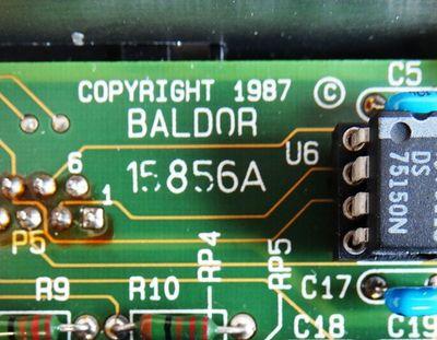 BALDOR ASR S-BTS 10 SBTS10-200-2,5-R Id.15035 + BALDOR 15856A -used/OVP- – Bild 4