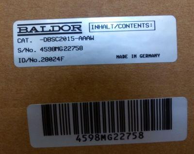 BALDOR DBSC2015-AAAW 28024F -unused/OVP- – Bild 4