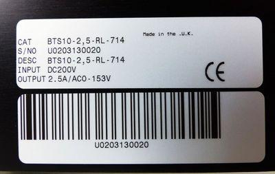 BALDOR ASR BTS10-2,5-RL-714 -unused/OVP- – Bild 3