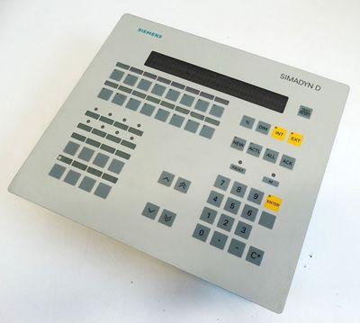 Siemens SIMADYN D OP1 6DD1670-0AF0 6DD1 670-0AF0 Ver: M Operator-Panel -unused- – Bild 1