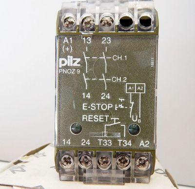 Pilz No:474780 PNOZ9 24V DC Sicherheitsrelais  - unused - in OVP – Bild 2