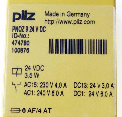 Pilz No:474780 PNOZ9 24V DC Sicherheitsrelais  - unused - in OVP – Bild 3