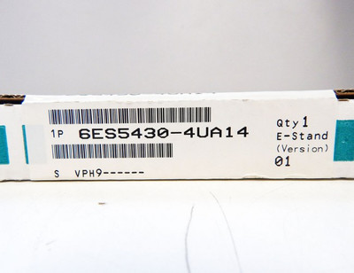 Siemens Simatic S5 6ES5 430-4UA14 6ES5 430-4UA14  E: 01 -sealed- in OVP – Bild 3