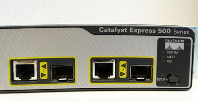Cisco  WS-CE500-24LC Catalyst Express 500 Series 24-Port Ethernet Switch -used- – Bild 4