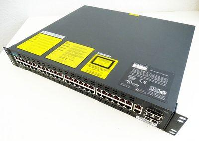 Cisco Catalyst 2948G WS-C2948G 48 Port Ethernet 2 Port 1000Base-X Switch -used- – Bild 1