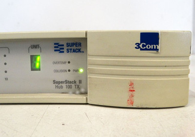 3Com SuperStack II Hub 100 TX  3C250A-TX/I 12 Port Switch -used- – Bild 2