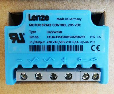 Lenze E82ZWBRB 205VDC 0,54A HW: 1A Elektronisher Bremsenschalter -unused/OVP- – Bild 2