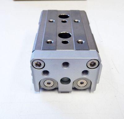 SMC MXQ16L-10 pneumatischer Kompaktschlitten  - unused - in OVP – Bild 3