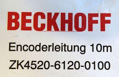 Beckhoff ZK4520-6120-0100 Encoderleitung 10m -sealed- – Bild 3