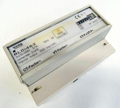 BERG BLCi 462  BLCi462 3x230/400V 5/1A 1000 imp/kWh Stromzähler -used- – Bild 1