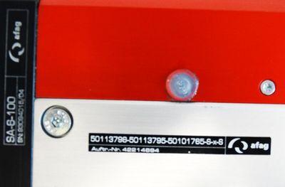 Afag SA-6-100 Spindelausleger Basismodul + 2-320-400-45-B-R-X Servomotor -unused – Bild 3
