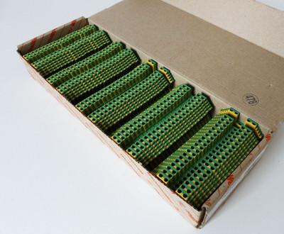 100x Weidmüller WPE 1.5/ZZ WPE1.5/ZZ 1016500000 Klemme -used- – Bild 1