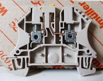 100x Weidmüller WTR 2.5 WTR2.5 1855610000 Klemme -unused/OVP- – Bild 4