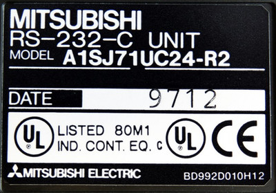 Mitsubishi A1SJ71UC24-R2  RS-232-C Unit -unused- – Bild 3