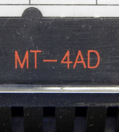 Mitsubishi MT-4AD No:68909 Analog-Input-Module & MT-4AD-TBS - unused - – Bild 2