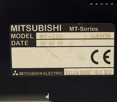 Mitsubishi MT-4AD No:68909 Analog-Input-Module & MT-4AD-TBS - unused - – Bild 4