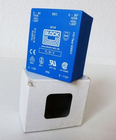 BLOCK FL 30/9 FL30/9 Transformator -unused/OVP-  – Bild 1
