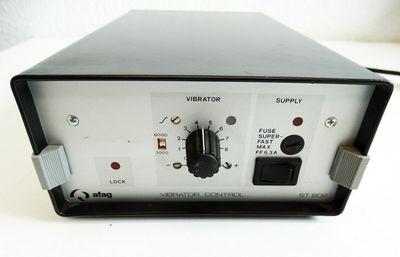 Afag ST 602  ST602 Vibrator Control Rütteltopfsteuerung Regelgerät -used- – Bild 4