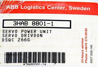 ABB DSQC 266G 3HAB 8801-1  3HAB8801-1 Servo Power Unit -used/OVP- – Bild 3