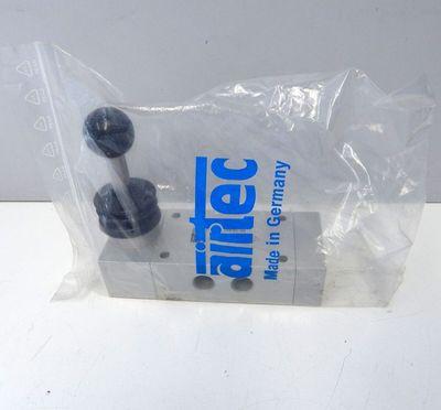 Airtec HF 15-530 Handhebelventil 5/3 Wege 0-10Bar  - unused - – Bild 1