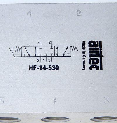 Airtec HF 15-530 Handhebelventil 5/3 Wege 0-10Bar  - unused - – Bild 4