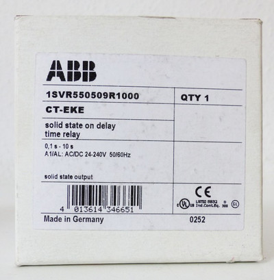 ABB CT-EKE 1SVR550509R1000 Zeitrelais -unused/OVP- – Bild 2