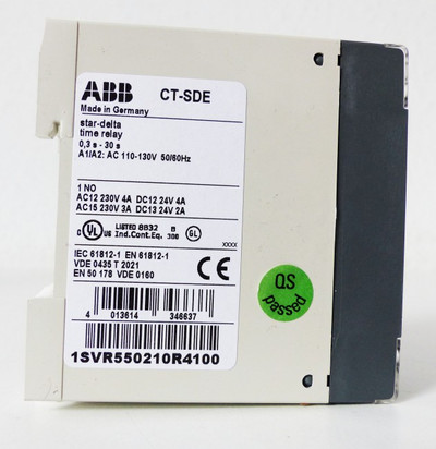 ABB CT-SDE 1SVR550210R4100 time relay -unused/OVP- – Bild 3