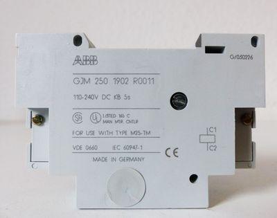 ABB GJM2501902R0011 3ZB3192-0AB73 Spannungsauslöser 110V-240VDC -unused/OVP-  – Bild 3