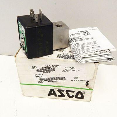 Asco Joucomatic SC G262 520V  2 - Wege Magnetventil 24V DC - unused - in OVP – Bild 1