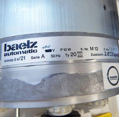 Baelz automatic Pilot Antrieb E4/21 Ser.A  2mm/min Stellantrieb  -unused- in OVP – Bild 3
