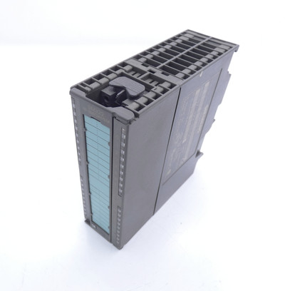 Siemens Simatic S7 6ES7 322-1BL00-0AA0 E-Stand: 01 + Connector -used- – Bild 1