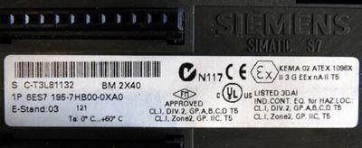 3x Siemens SIMATIC S7 6ES7 195-7HB00-0XA0 6ES7195-7HB00-0XA0 BM 2X40 E:03 -used- – Bild 3