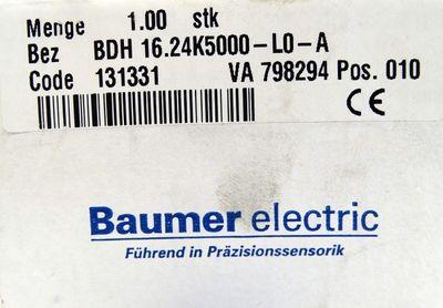 Baumer electric BDH 16.24K5000-L0-A  BDH16.24K5000-L0-A Drehgeber -unused/OVP- – Bild 3