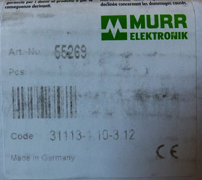 Murr Elektronik MVK-MPNIO DI8+DO8 55269 Feldbusmodul -unused/OVP- – Bild 4