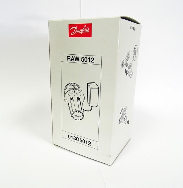 danfoss raw 5012 013g5012 thermostatkopf mit fernf hler unused ovp. Black Bedroom Furniture Sets. Home Design Ideas