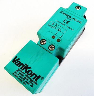 Pepperl+Fuchs NJ15+U1+E2 Nr. 84510 10-60VDC Steckbarer Näherungsschalter -used- – Bild 1