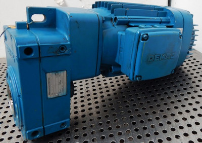 Demag Getriebemotor KBA-90-B4-AFM05L-M-0-1-35-1 I=11,4 1,55 KW  - used - – Bild 1