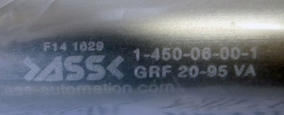 ASS Greiffinger GRF 20-95 VA  1-450-06-00-1  -unused/OVP- – Bild 2