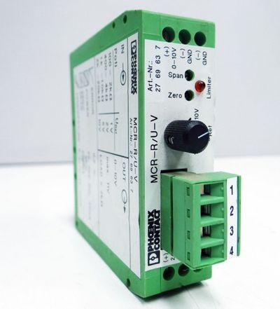 Phoenix Contact Widerstands-Meßumformer MCR-R/U-V Art. Nr. 27 69 63 7   -used- – Bild 1