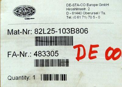 DESTACO 82L25-103B806 8 bar Pneumatik Kraftspanner Power Clamp -unused/OVP- – Bild 3