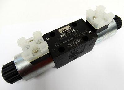 Parker D1VW004CNJW91 24V=1.29A 350 bar P.A.B 210 bar Max T Magnetventil -unused- – Bild 1