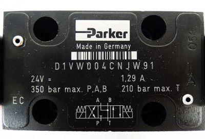 Parker D1VW004CNJW91 24V=1.29A 350 bar P.A.B 210 bar Max T Magnetventil -unused- – Bild 2