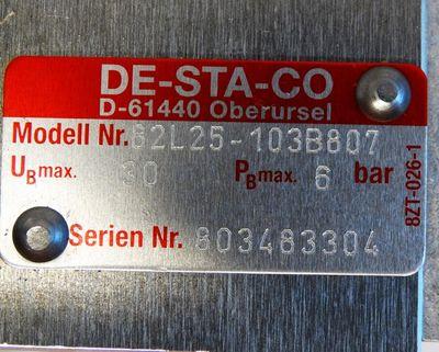 DESTACO 82L25-103B807 Pmax 6 bar Kraftspanner Power Clamps -used- – Bild 3