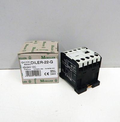 Klöckner Eaton Moeller DILER-22-G  DIL ER-22-G 24V DC Hilfsschütz -unused/OVP- – Bild 1