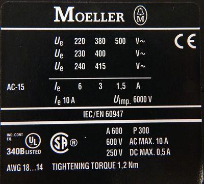 Klöckner Eaton Moeller DILER-22-G  DIL ER-22-G 24V DC Hilfsschütz -unused/OVP- – Bild 5