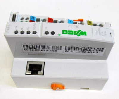 WAGO 750-341 Ethernet TCP/IP 10/100 MBit Feldbuskoppler 24V DC -unused- – Bild 4