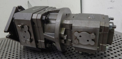 Bosch Rexroth Zahnradpumpen PGH5-21/100RE11VE4 + PGH4-21/063RR07VU2  - unused - – Bild 4