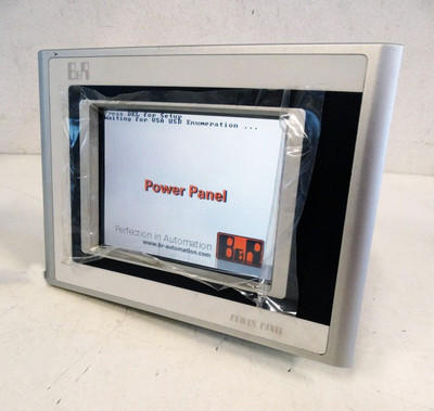 B&R Power Panel 300 5PP320.0571-39 Rev. H0 24VDC Touch Panel+128 MB karte -used- – Bild 1